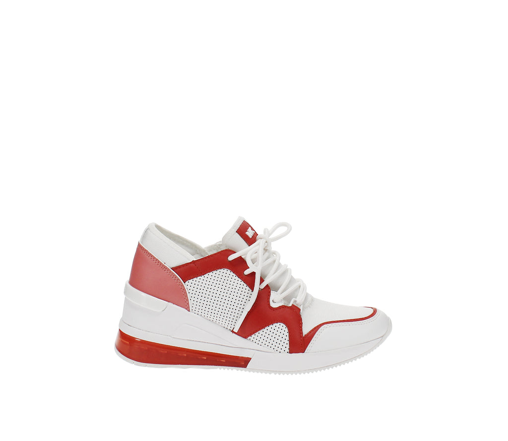 Yieldings Discount Shoes Store's Liv Trainer Extreme Sneakers by MICHAEL Michael Kors in Sea Coral