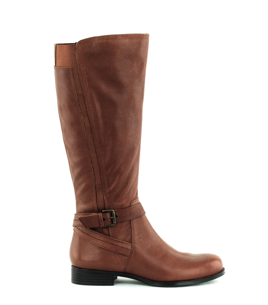 Yieldings Discount Shoes Store's Jelina Tall Boots by Naturalizer in Banana Bread