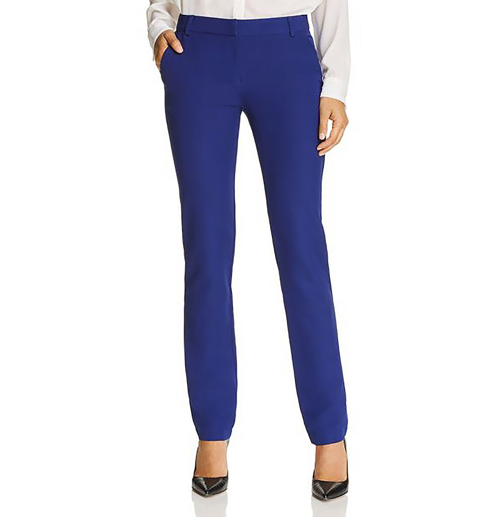 Yieldings Discount Clothing Store's Straight-Leg Pants by Aqua in Cobalt
