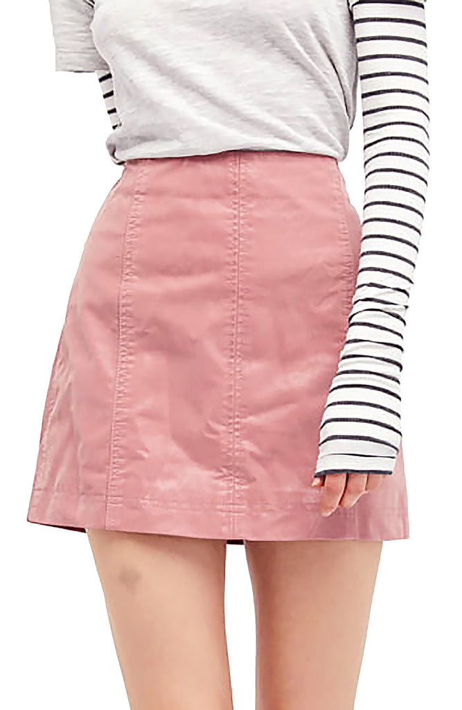 Free People | Modern Femme Vegan Mini Skirt
