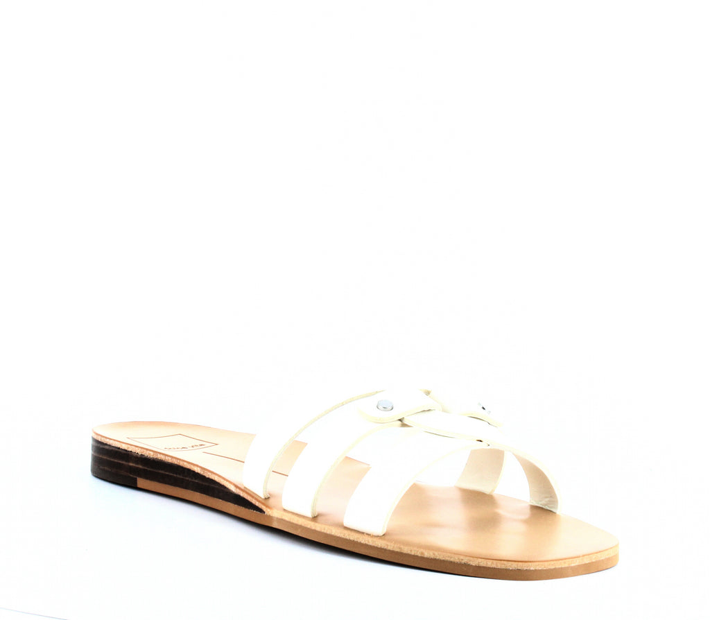 Yieldings Discount Shoes Store's Cait Slide Sandals by Dolce Vita in Off White