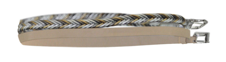 INC | 2-For-1 Solid & Braided Skinny Belts