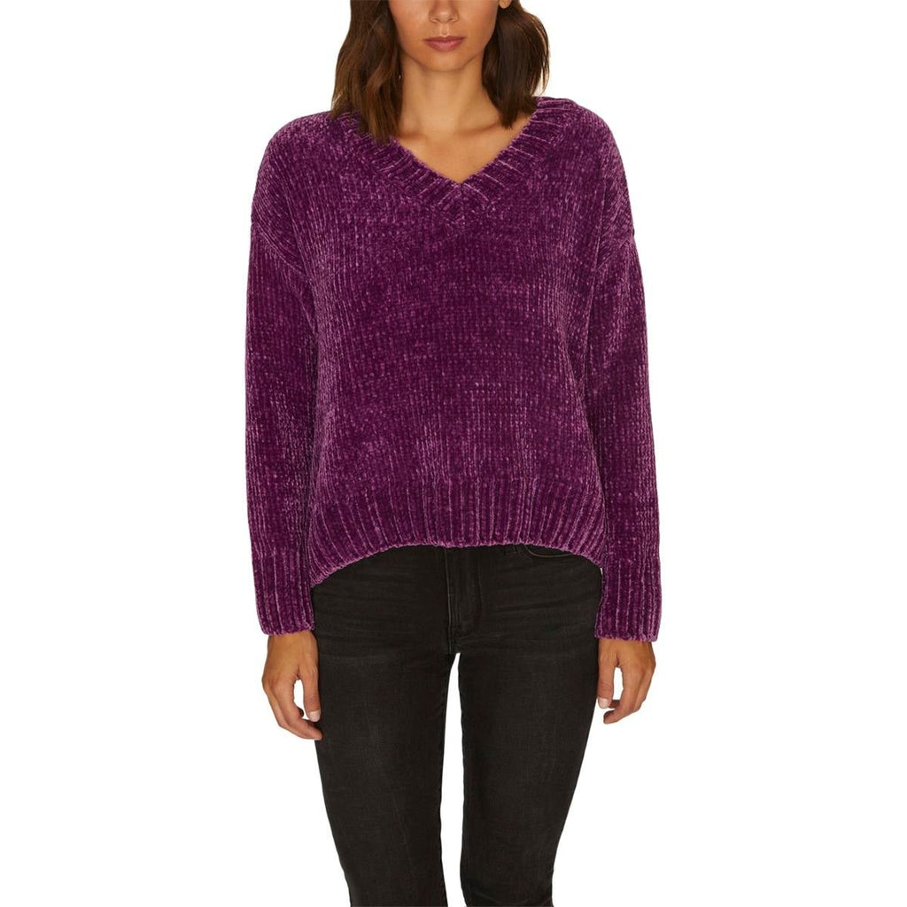 Yieldings Discount Clothing Store's Chenille Pullover Sweater by Sanctuary in Ultraviolet