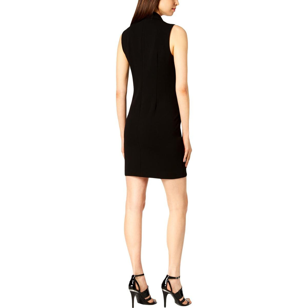 Yieldings Discount Clothing Store's Tuxedo Dress by Calvin Klein in Black
