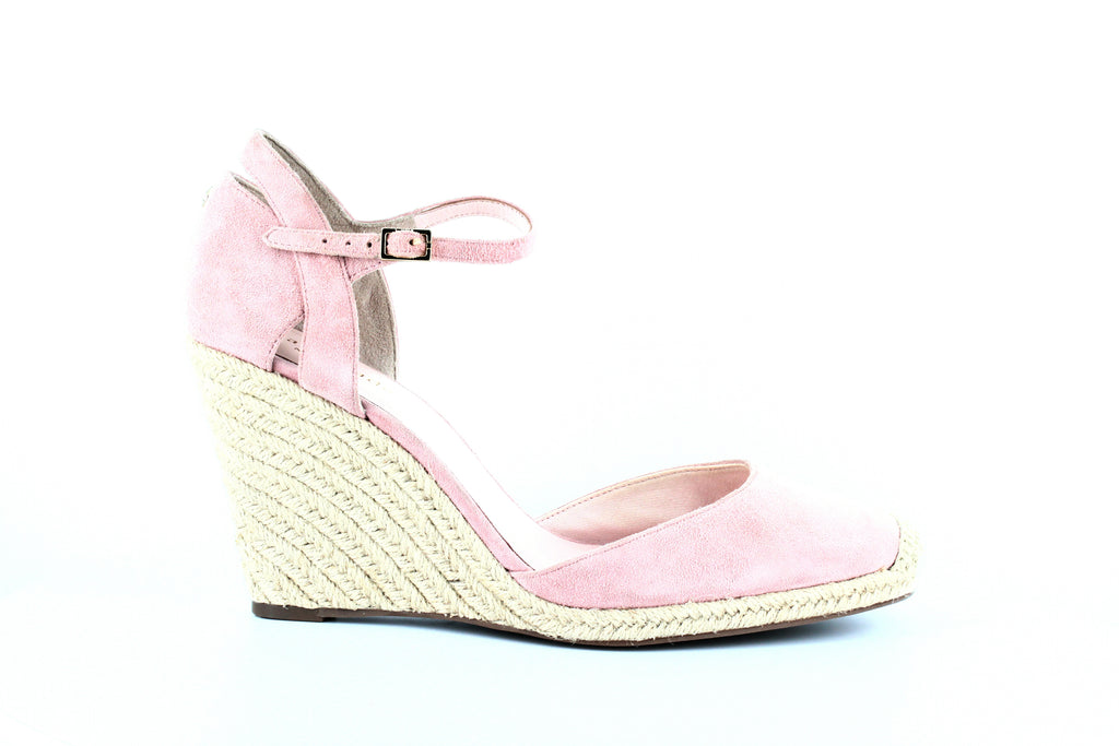 Kate Spade | Giovanna Suede Espadrille Wedge Pumps