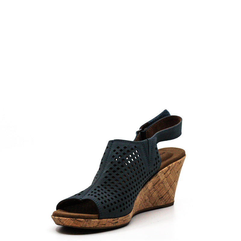 Rockport | Briah Perforated Slingback Wedges