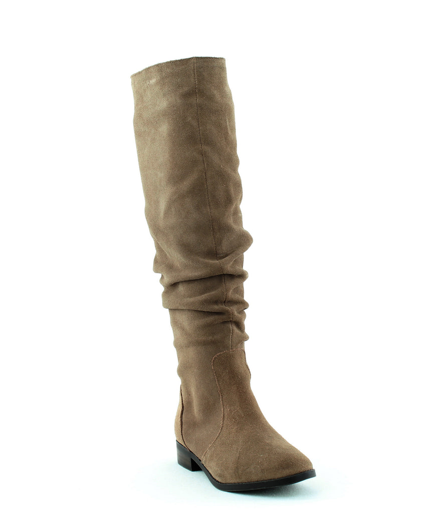 Yieldings Discount Shoes Store's Beacon Tall Boots by Steve Madden in Taupe