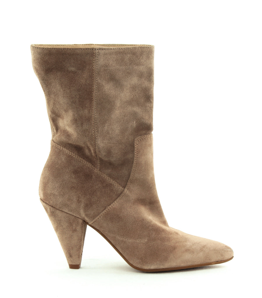 Yieldings Discount Shoes Store's Labella Mid Calf Bootie by Kenneth Cole in Buff