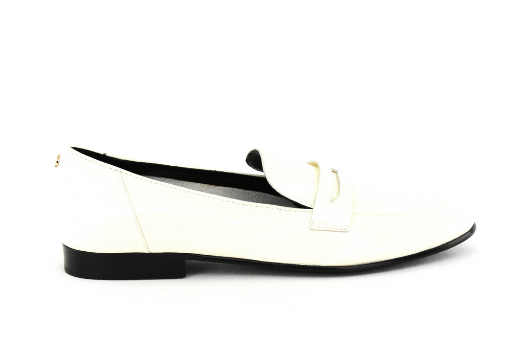 Yieldings Discount Shoes Store's Genevieve Loafer by Kate Spade in Off White