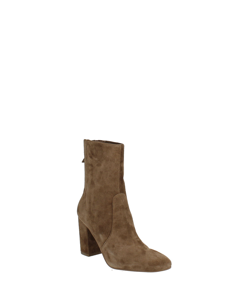 Yieldings Discount Shoes Store's Windsor Booties by Nine West in Dark Natural