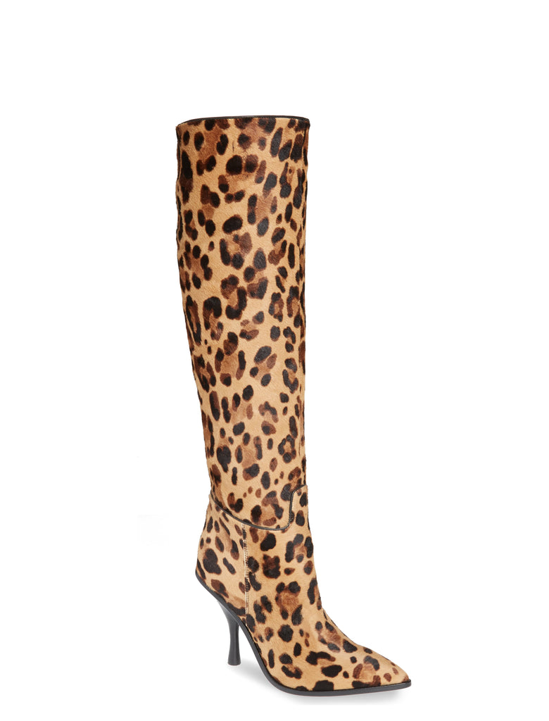 Yieldings Discount Shoes Store's Haliey Knee High Boots by Sigerson Morrison in Camel Multi/Black
