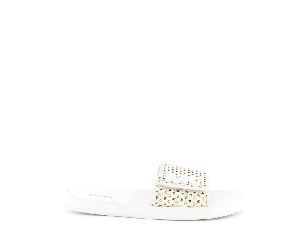 MICHAEL Michael Kors | Perforated Star Slide Sandals