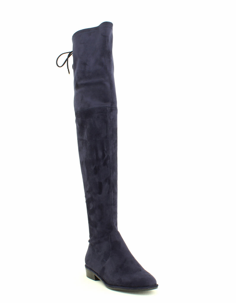 Marc Fisher | Humor 2 Faux Suede Flat Over the Knee Riding Boots