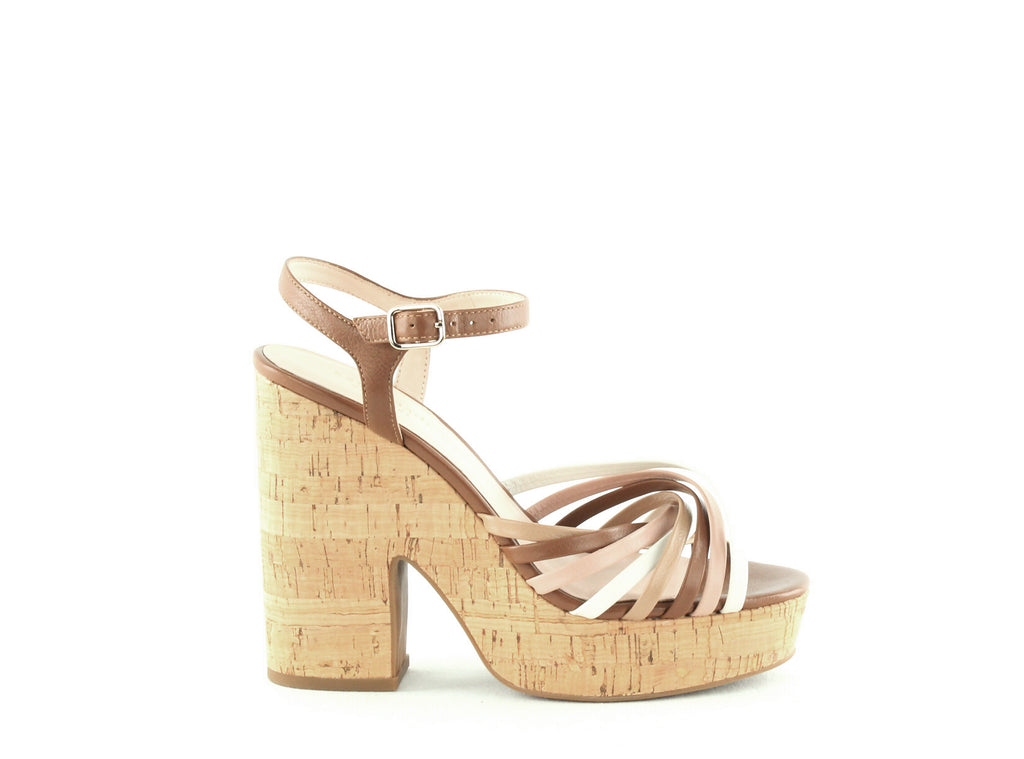 Yieldings Discount Shoes Store's Glow Platform Sandals by Kate Spade in Multi Toast