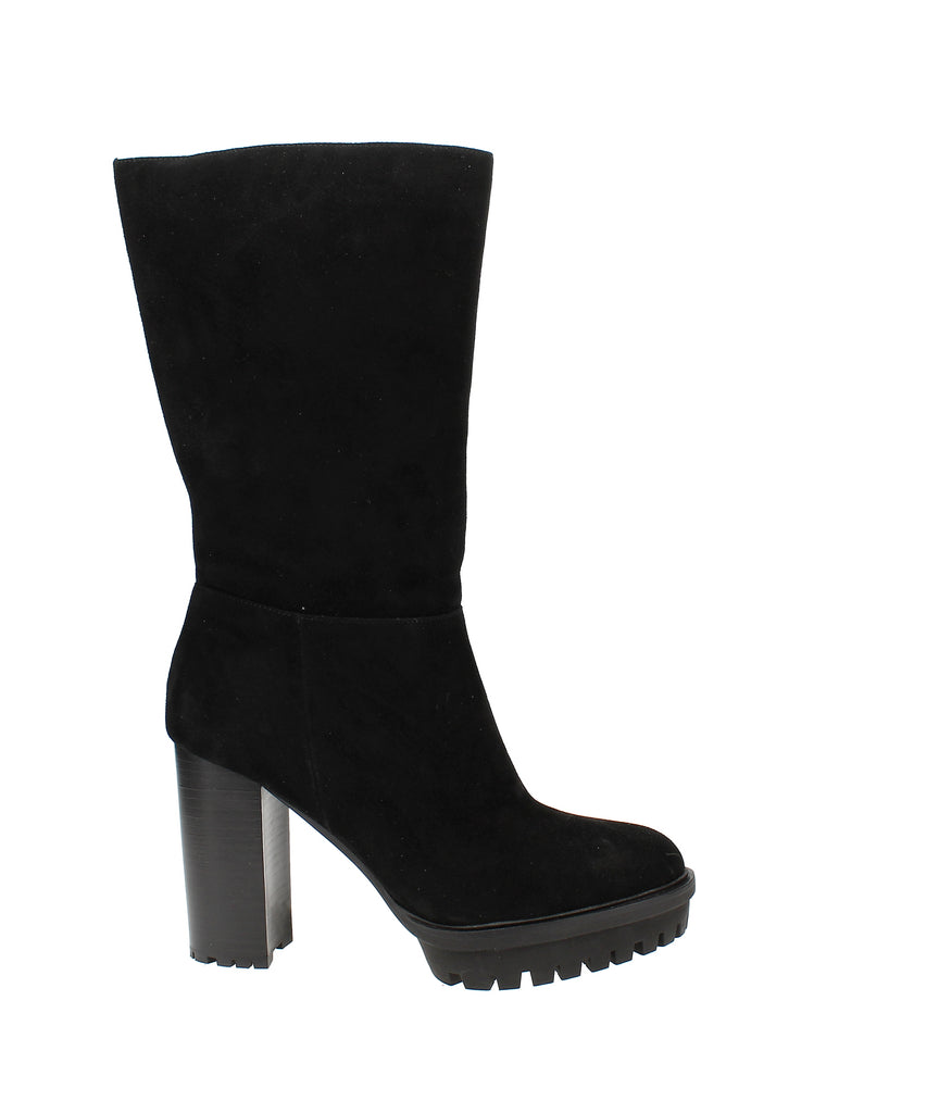 Yieldings Discount Shoes Store's Eshitana Platform Boots by Vince Camuto in Black