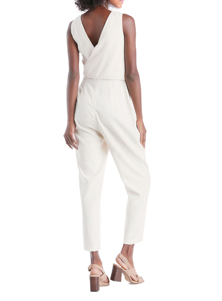 1.State | V-Neck Wrap Jumpsuit