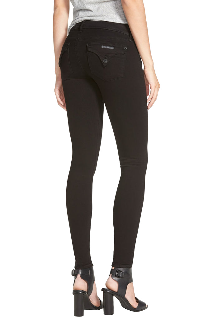 Yieldings Discount Clothing Store's Collin Skinny Jeans by Hudson in Black