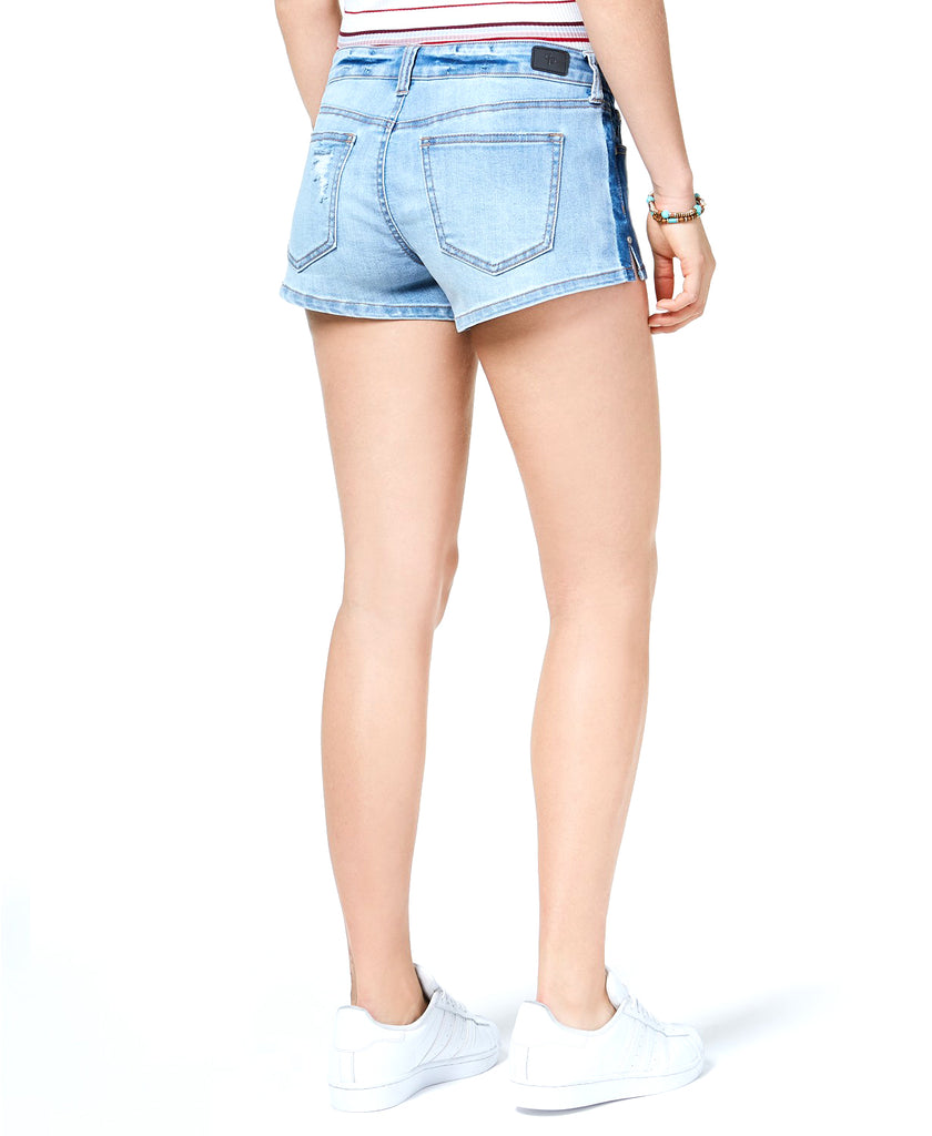 Yieldings Discount Clothing Store's Distressed Shorts by Celebrity Pink in Sunset