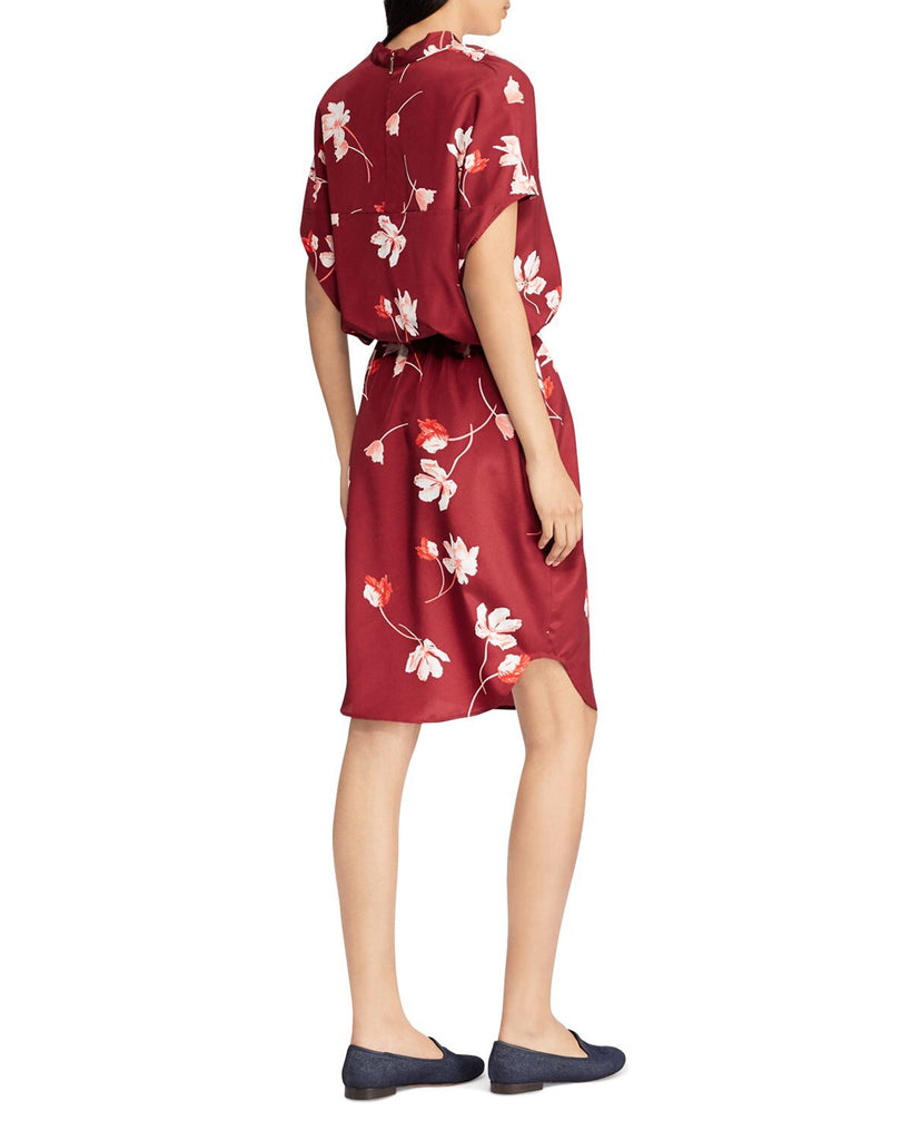 Yieldings Discount Clothing Store's Floral Crepe Dress by Lauren by Ralph Lauren in Multi
