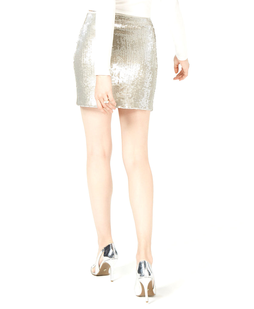 Bar III | Sequin Midi Skirt