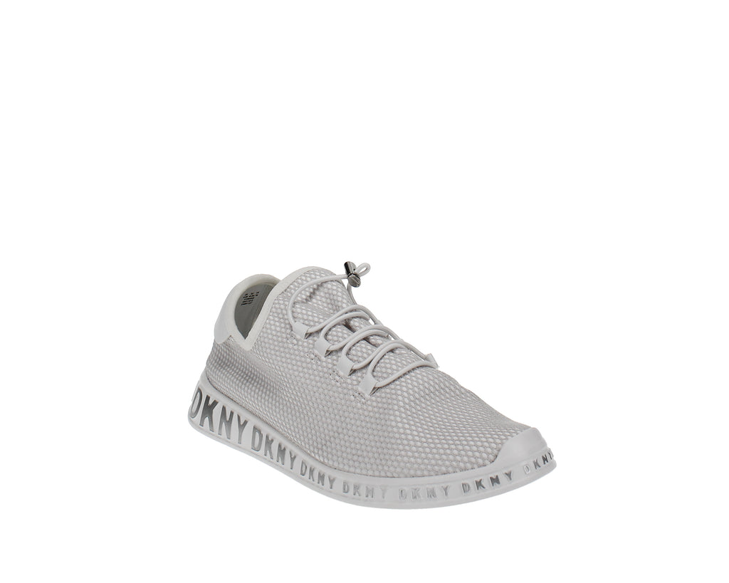 Yieldings Discount Shoes Store's Mel Laceup Sneakers by DKNY in Mesh White