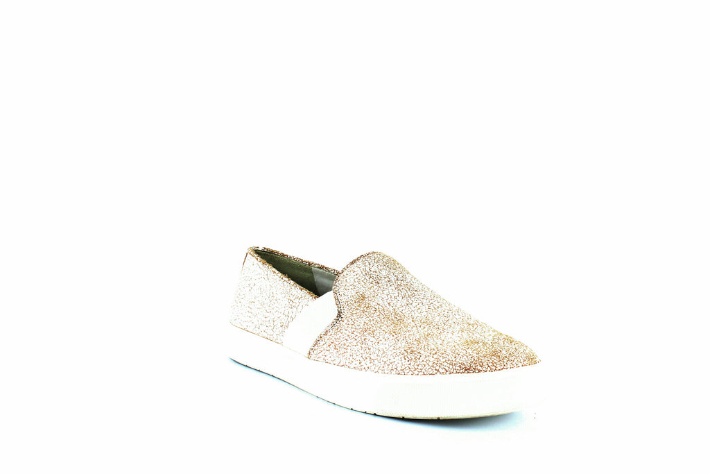 Yieldings Discount Shoes Store's Blair Slip-On Sneakers by Vince in White Leather