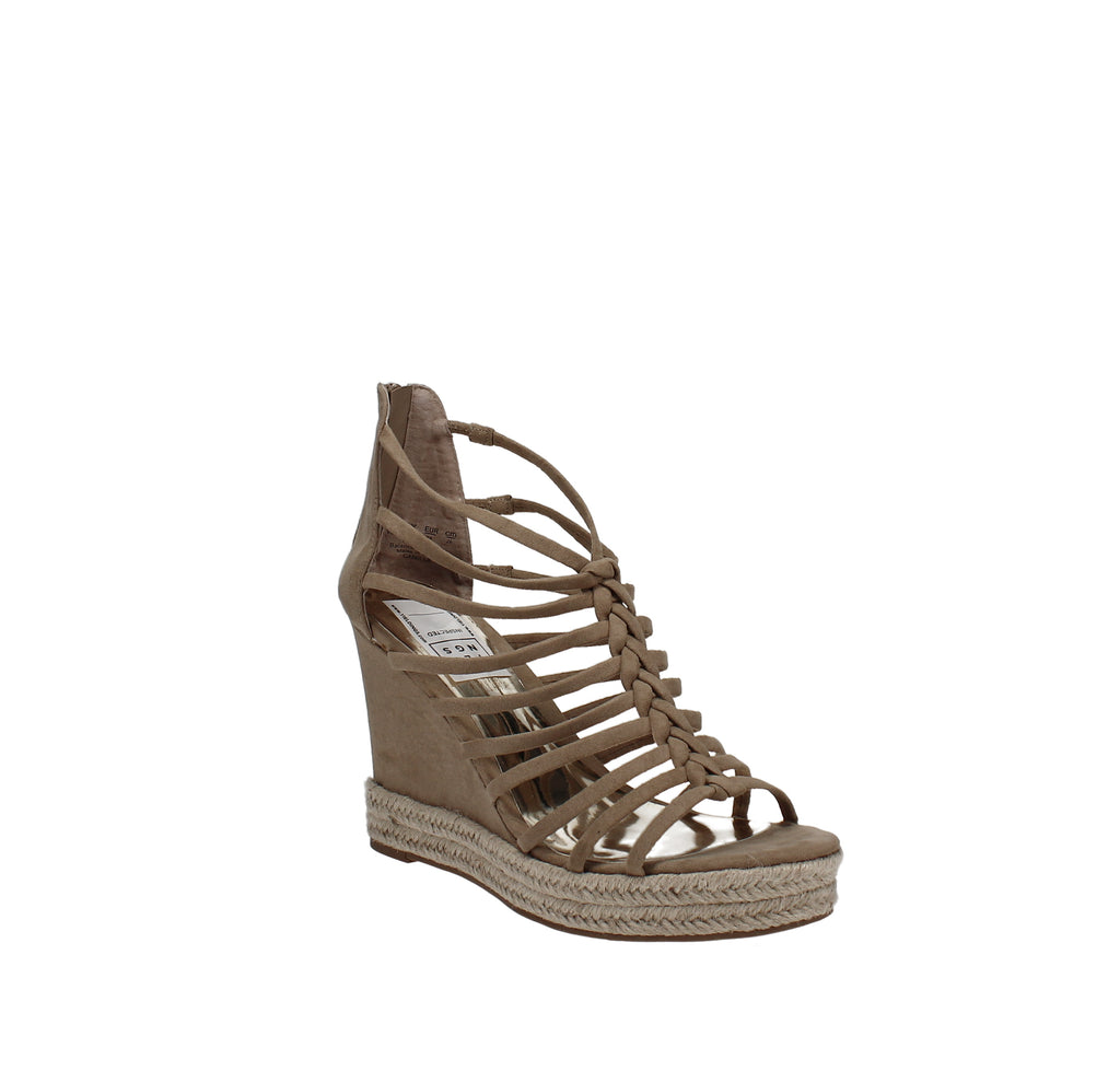 Yieldings Discount Shoes Store's Camilla Sandals by Carlos by Carlos Santana in Sand