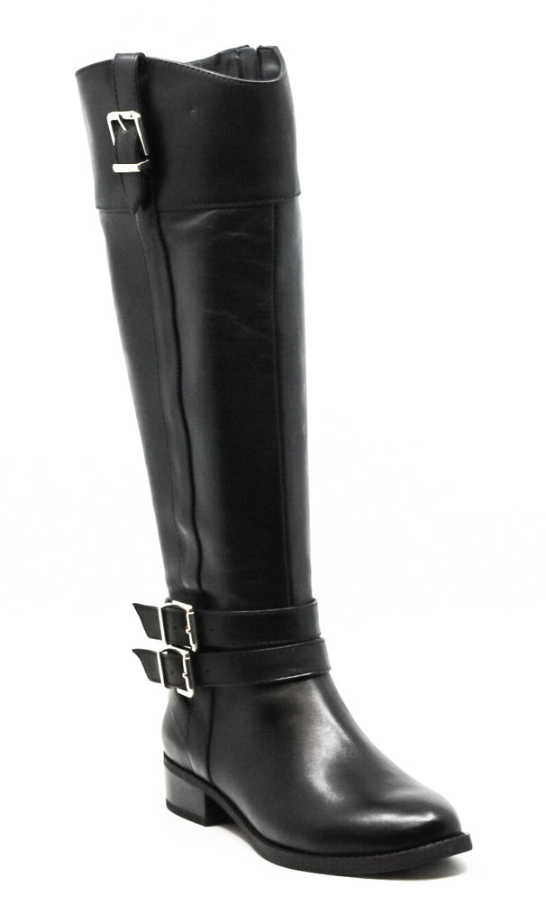 Yieldings Discount Shoes Store's Frankii Riding Boots by INC in Black