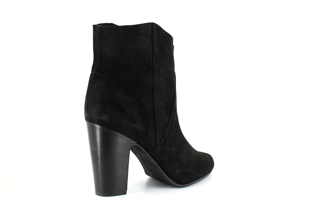 Yieldings Discount Shoes Store's Creestal Booties by Vince Camuto in Black