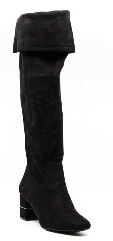 Yieldings Discount Shoes Store's Novaa Tall Boots by Alfani in Black