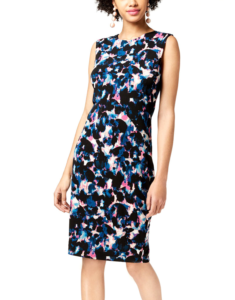 Yieldings Discount Clothing Store's Draped Back Midi Dress by RACHEL Rachel Roy in True Navy