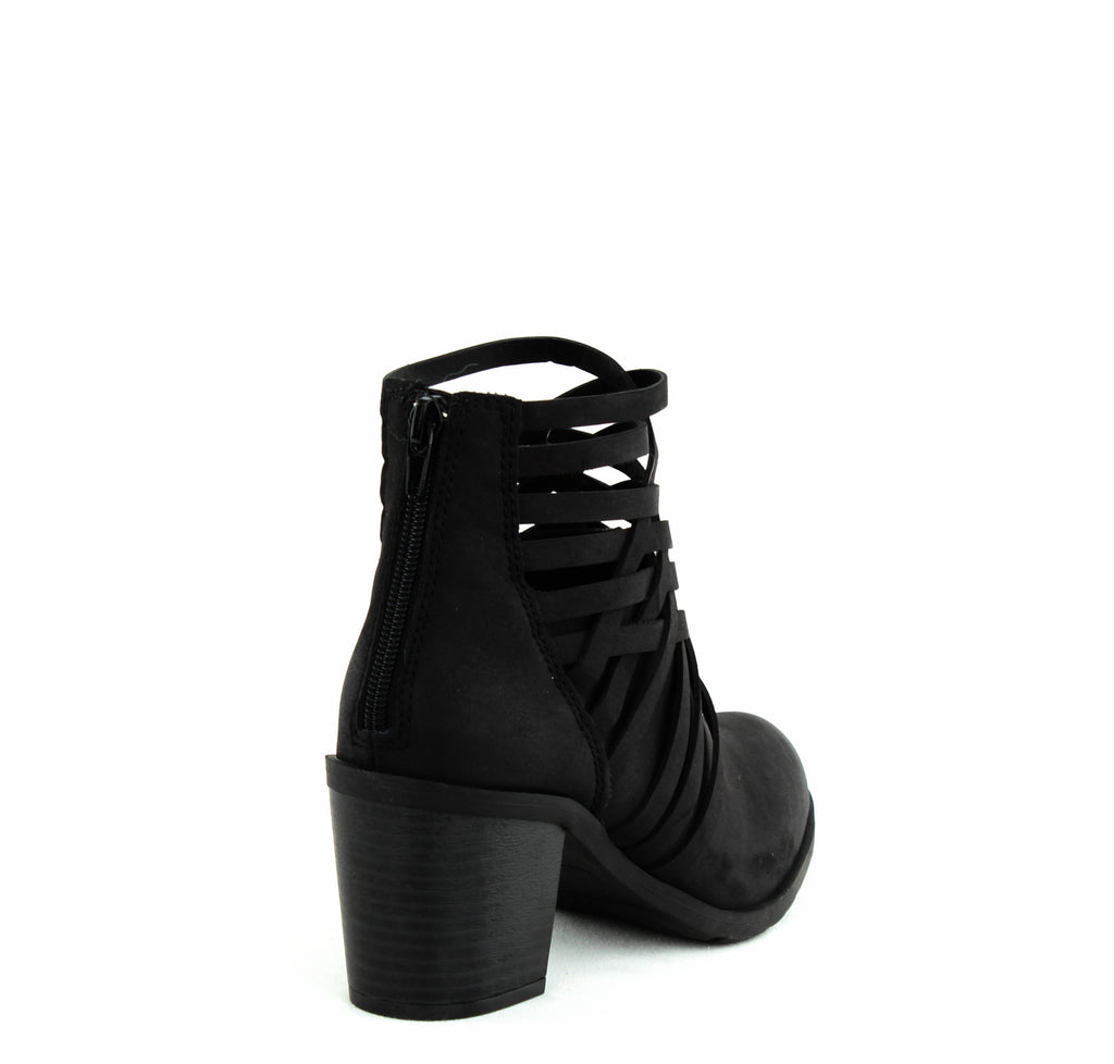 Yieldings Discount Shoes Store's Varya Ankle Bootie by American Rag Cie in Black