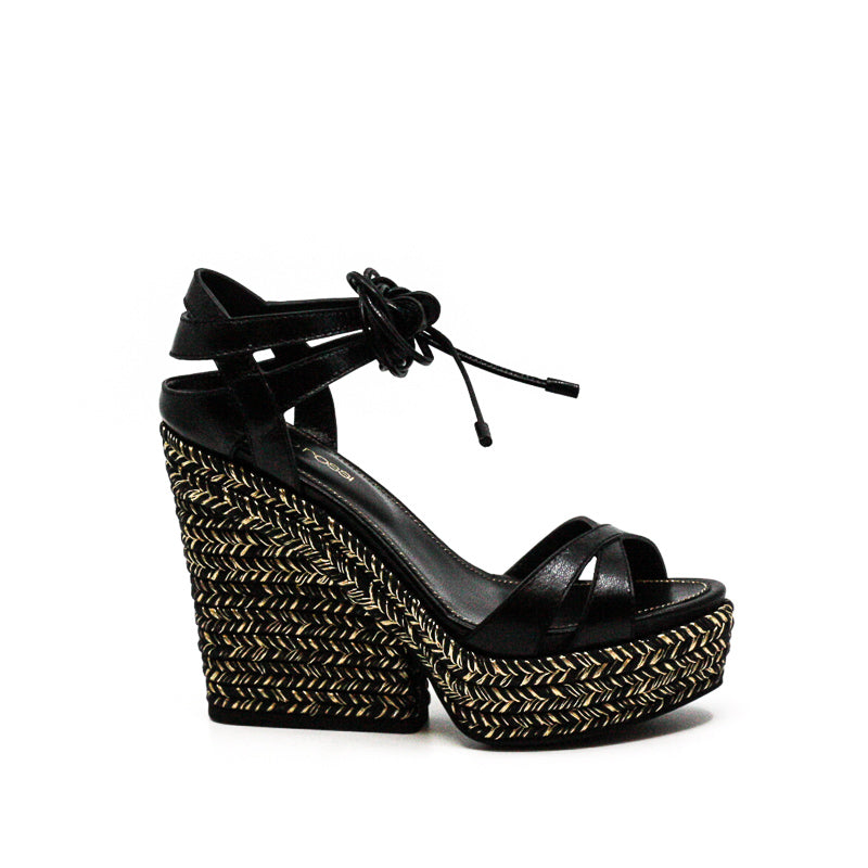 Yieldings Discount Shoes Store's Scarpe Donna Sandals Movie Kid Nero by Sergio Rossi in Black