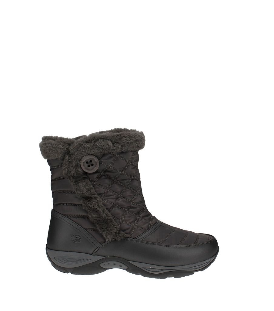 Yieldings Discount Shoes Store's Exposure Cold Weather Boots by Easy Spirit in Dark Gray