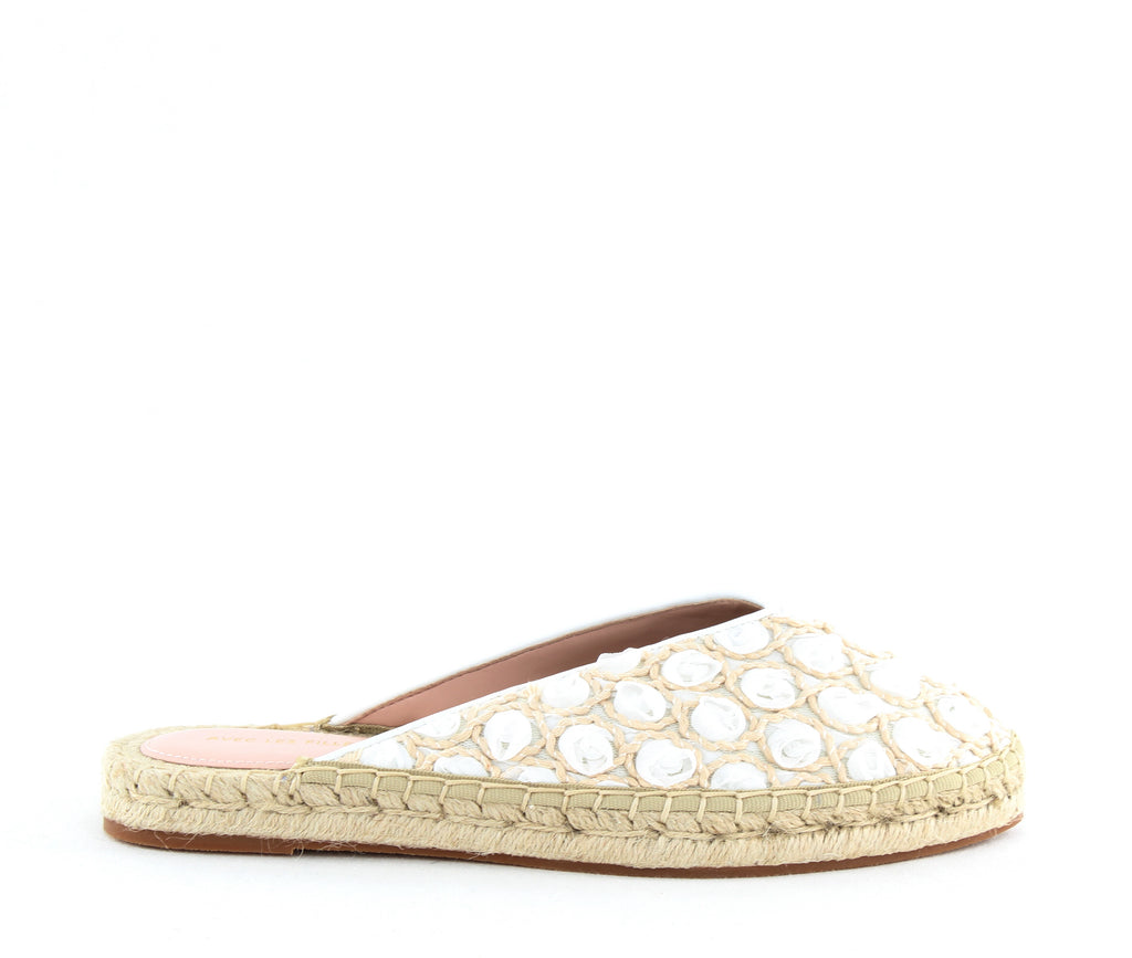 Yieldings Discount Shoes Store's Val Mules by Avec Les Filles in White