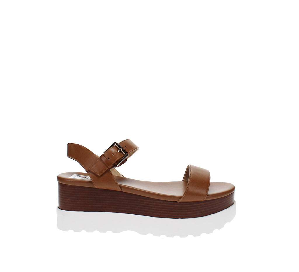Yieldings Discount Shoes Store's Marlon Platform Sandals by MICHAEL Michael Kors in Acorn