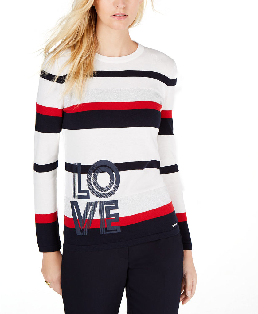 Tommy Hilfiger | Cotton Striped Love Sweater