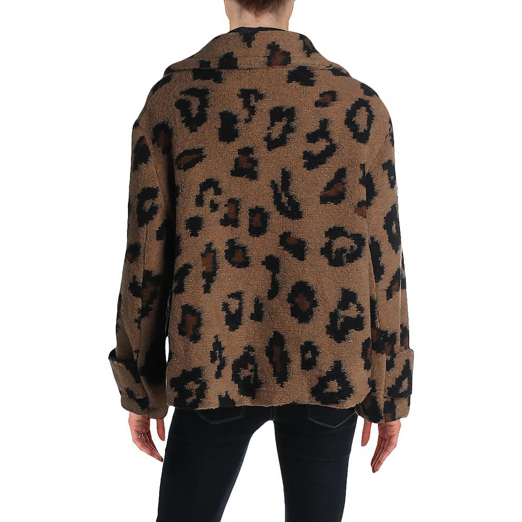 Yieldings Discount Clothing Store's Large Leopard Jacket by Chepè in Buck