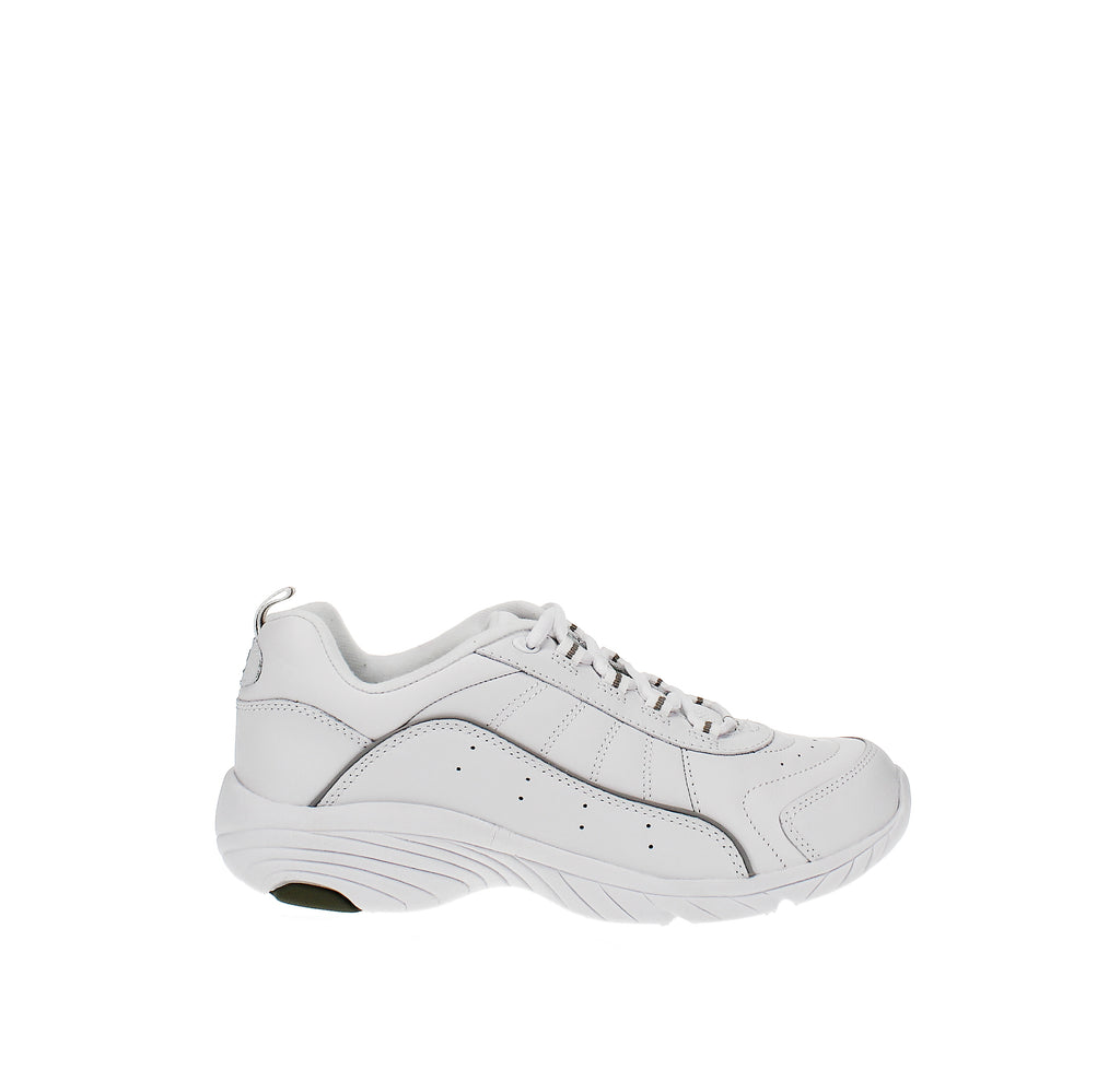 Yieldings Discount Shoes Store's Punter Sneakers by Easy Spirit in White