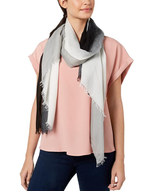 Yieldings Discount Accessories Store's Cover-Up & Scarf In One by Calvin Klein in Black