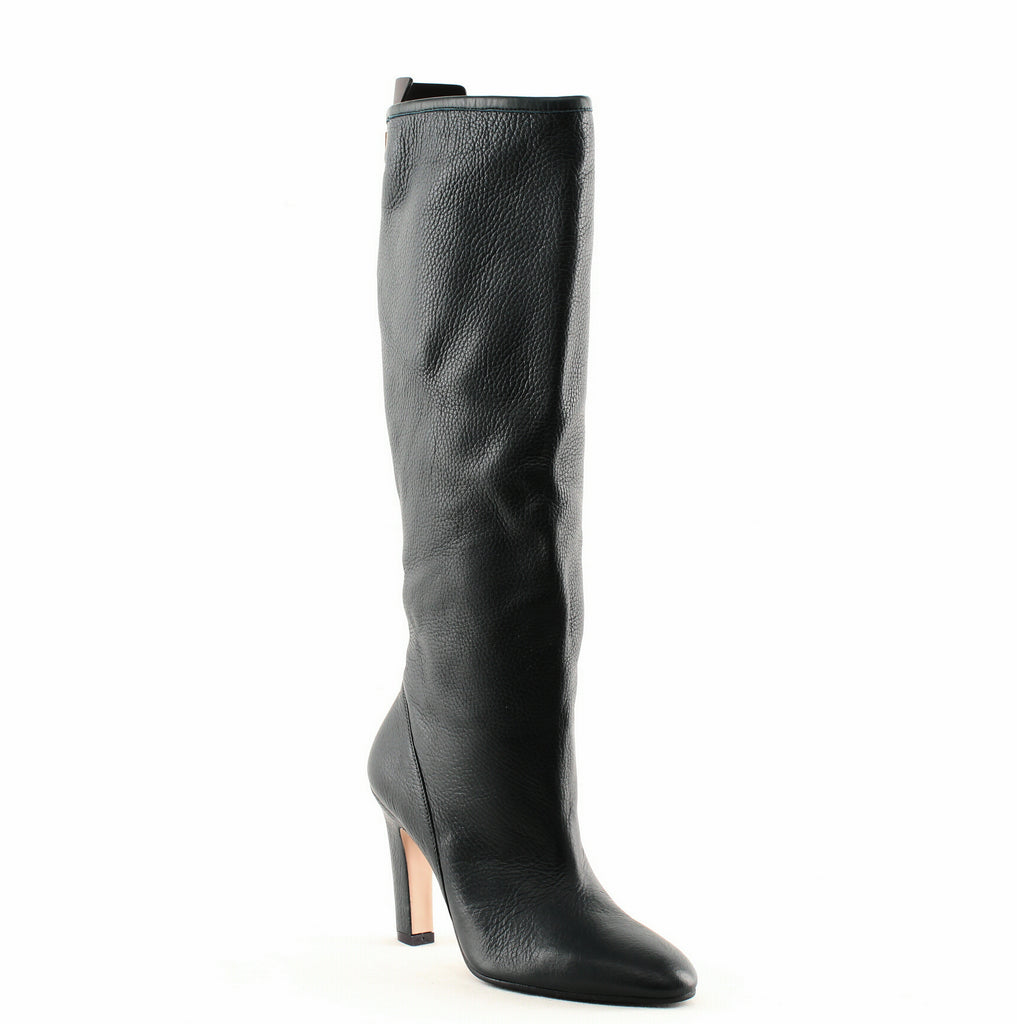 Yieldings Discount Shoes Store's Charlie Tall Boots by Stuart Weitzman in Deep Forest Ghent