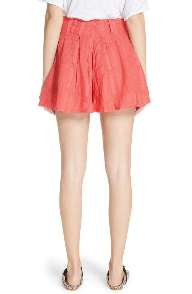 Yieldings Discount Clothing Store's Daze Away Skort by Free People in Coral