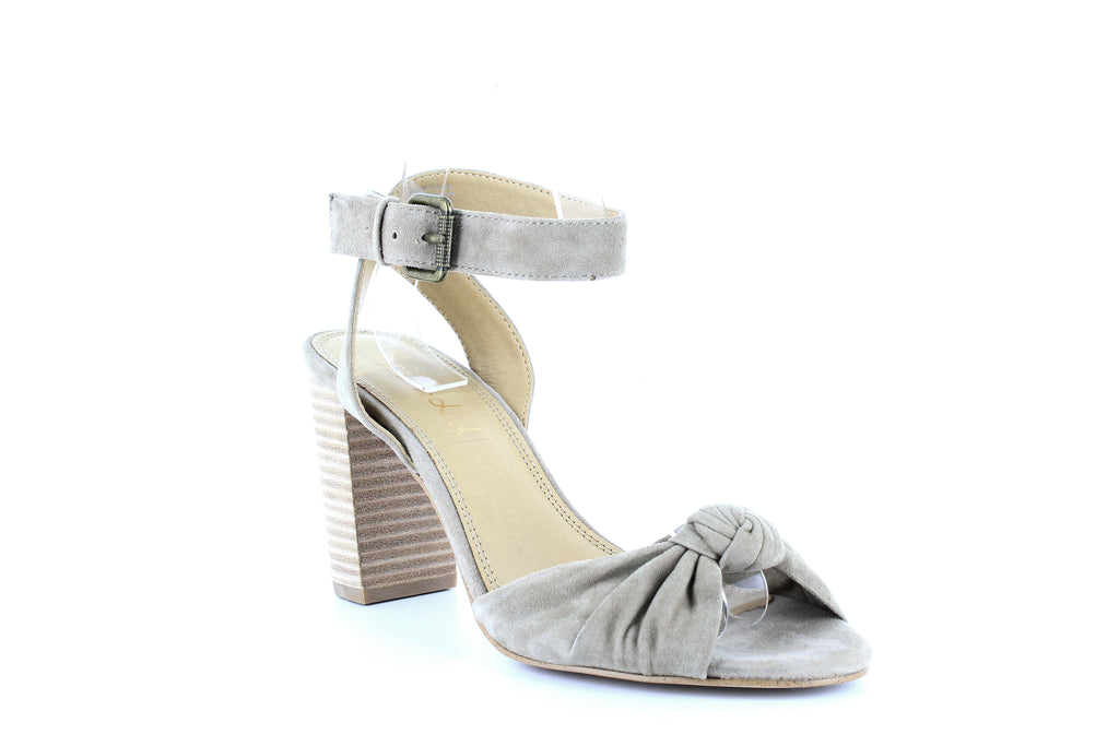 Yieldings Discount Shoes Store's Bea Ankle Strap Sandals by Splendid in Light Taupe
