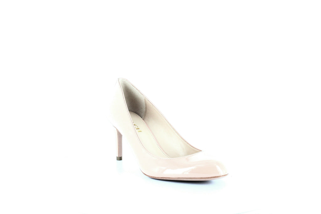Yieldings Discount Shoes Store's Devon Patent Pumps by Coach in Shell