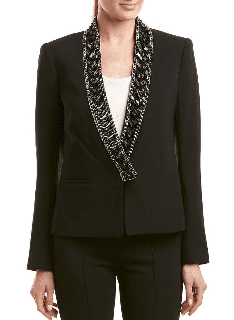 Rachel Zoe | Mya Beaded Lapel Jacket