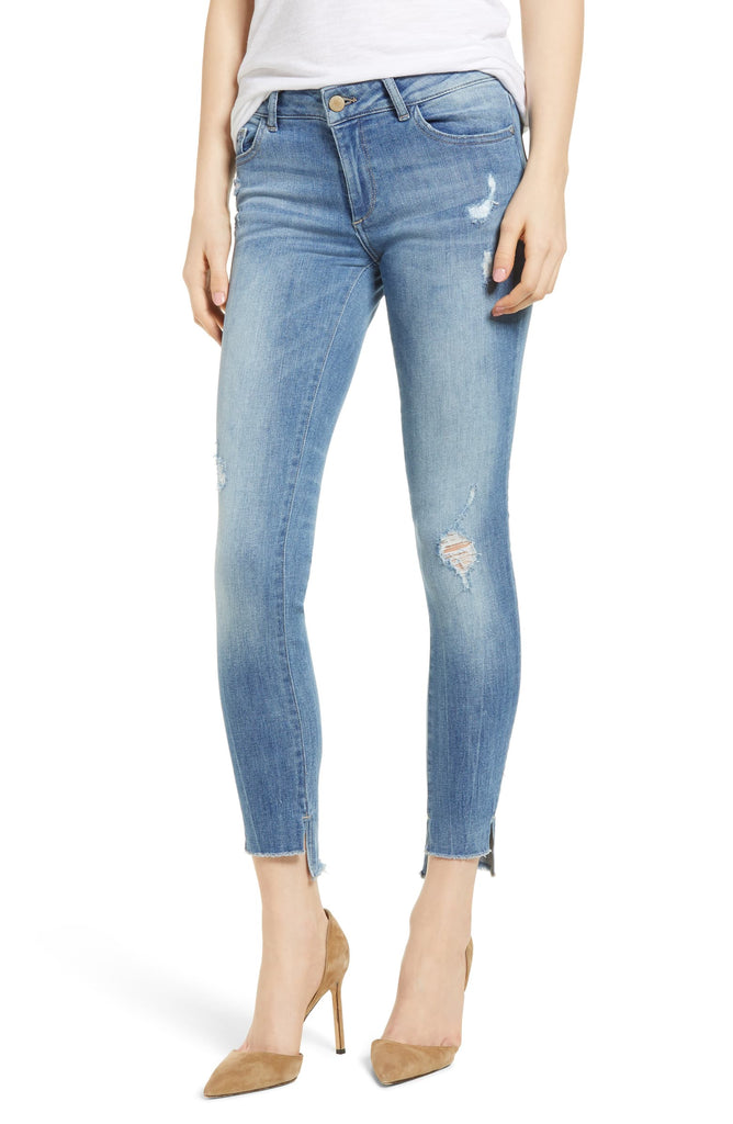 Yieldings Discount Clothing Store's Emma Low-Rise Skinny Jeans by DL1961 in Melbourne