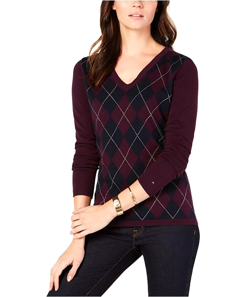 Tommy Hilfiger | Argyle-Front Sweater