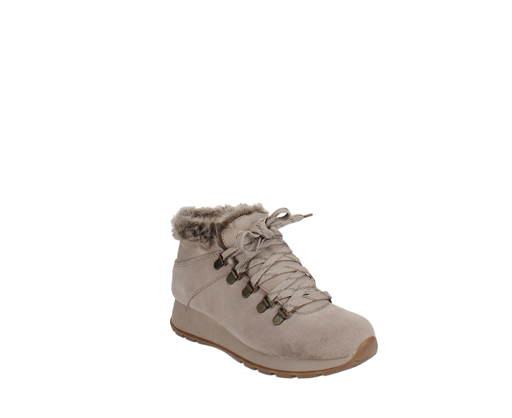 Yieldings Discount Shoes Store's Grazi Winter Booties by Baretraps in Taupe