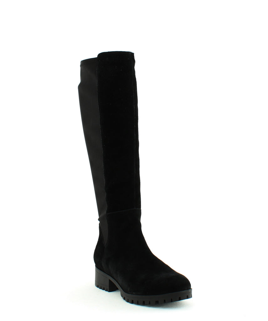 Yieldings Discount Shoes Store's Merona Knee High Boots by DKNY in Black