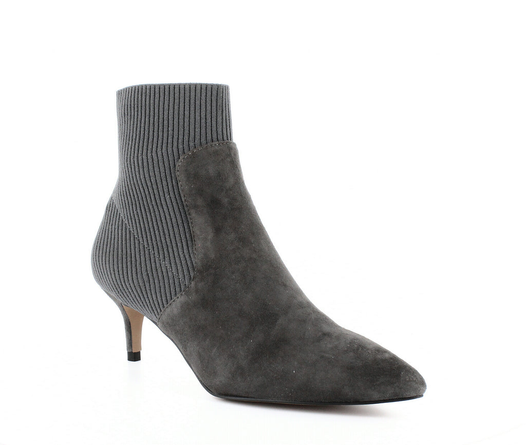 Yieldings Discount Shoes Store's Kagan Ankle Boots by STEVEN By Steve Madden in Grey Multi